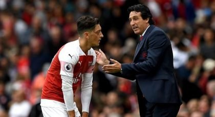 Arsenal: Mesut Ozil can still be a solution for Unai Emery