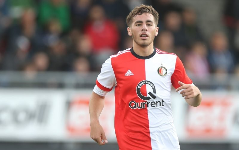 Arsenal among quartet monitoring Feyenoord starlet