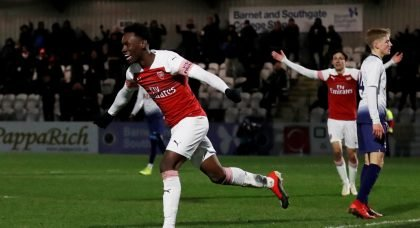 """Absolute baller,"" "" This guy is special"" – Some Arsenal fans swoon over free-scoring talent"