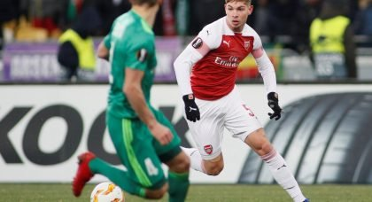 Arsenal must sacrifice this promising youngster to prioritise their immediate future