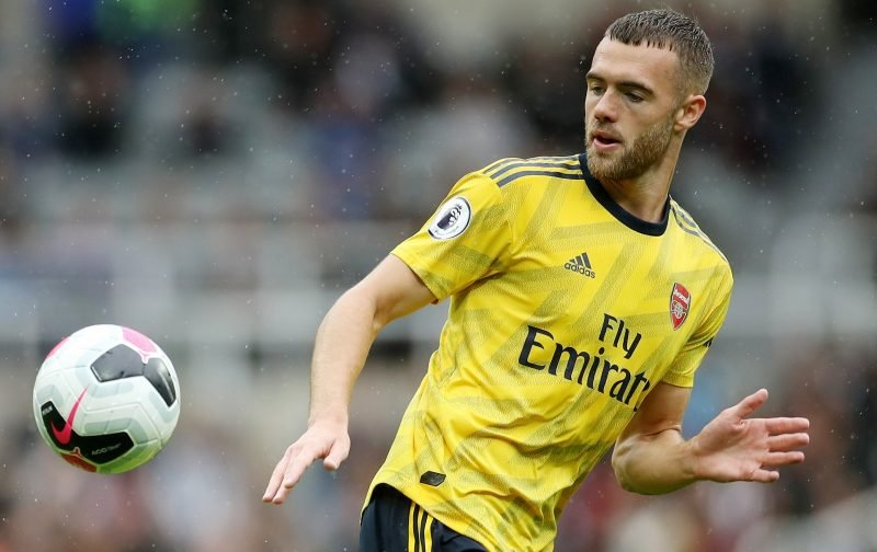 Arsenal fans react to the performance of Calum Chambers as he earns clean sheet after surprise inclusion
