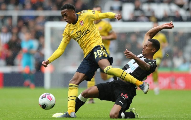 Arsenal fans react to Joe Willock's star showing against Newcastle as the 19y/o impresses yet again