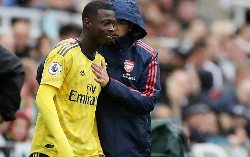 Arsenal: Unai Emery told he made a mistake signing Nicolas Pepe