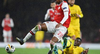 Arsenal fans tear apart Willock at HT v Brighton