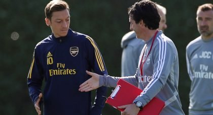 Ornstein: Ozil visited Emery to say goodbye