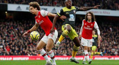 Arsenal fans tear apart Luiz v Southampton