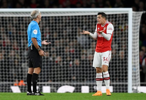 Nicholas baffled by Xhaka recall, predicts Brighton clash
