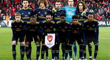 Arsenal fans tear into Sokratis v Standard Liege