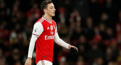 Andy Gray rips into 'passenger' Mesut Ozil